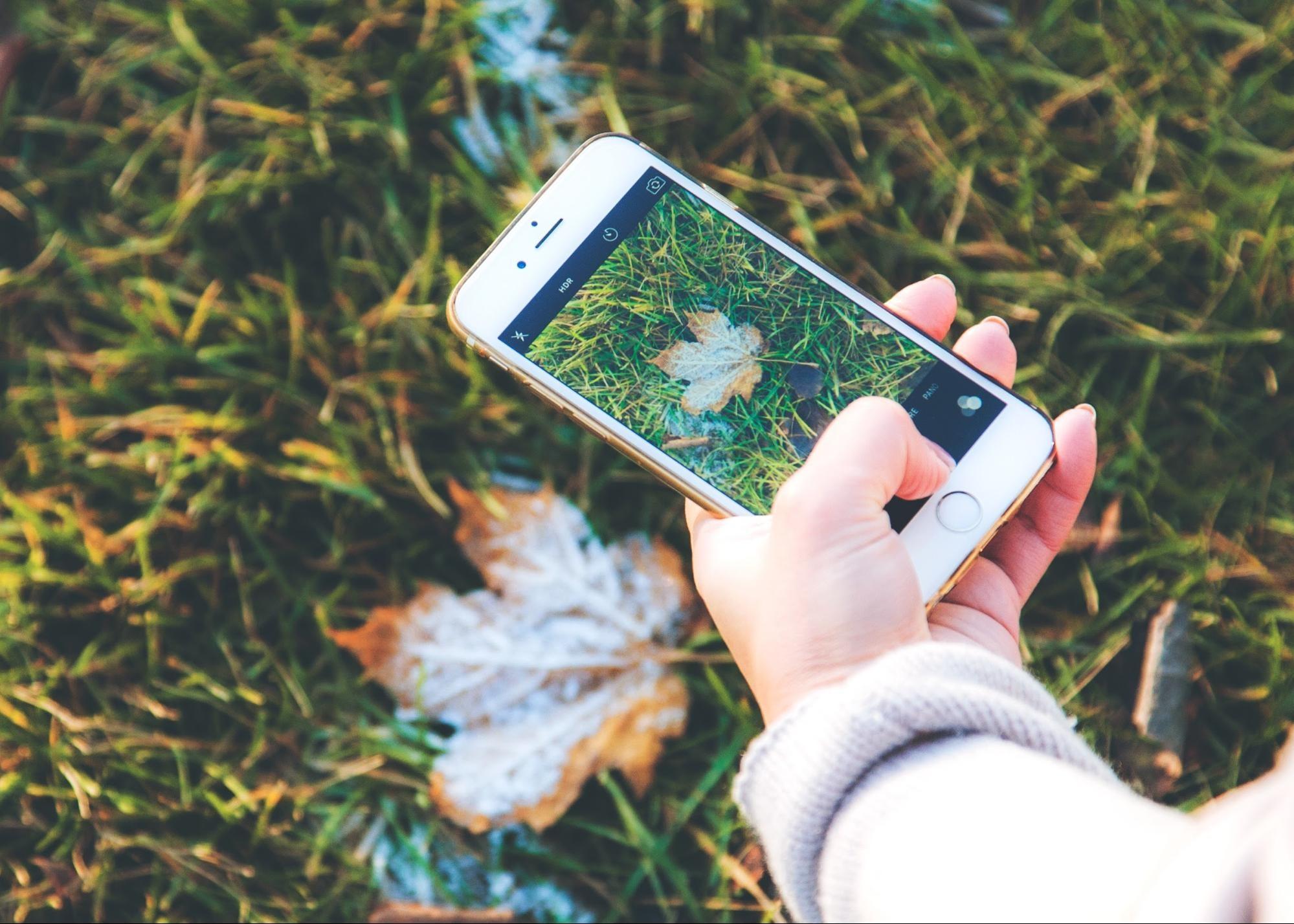 iPhone camera